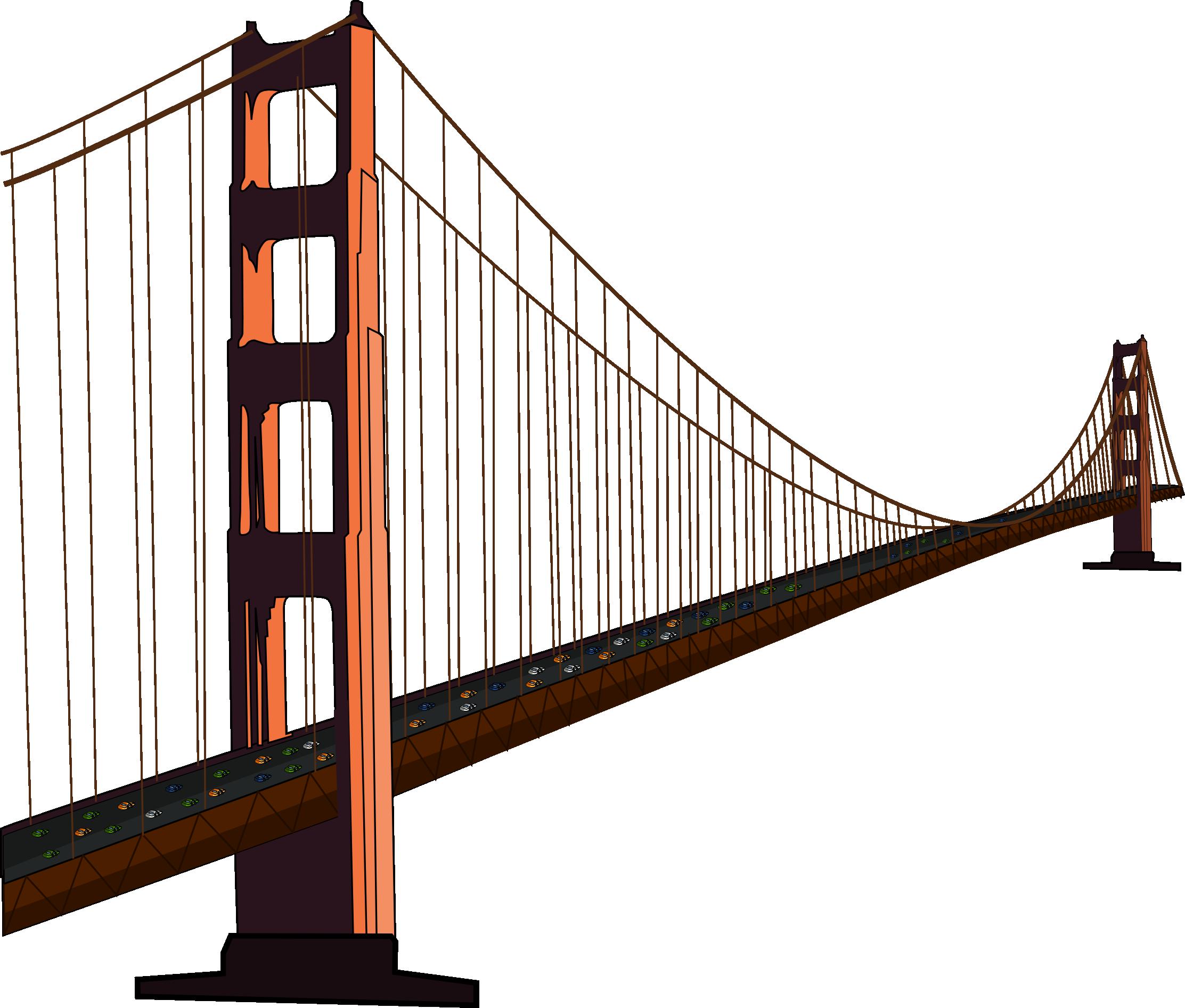 Pumpkin bridge clipart vector freeuse library Free Golden Gate Bridge Clip Art | clip art 2 | Pinterest | Golden ... vector freeuse library
