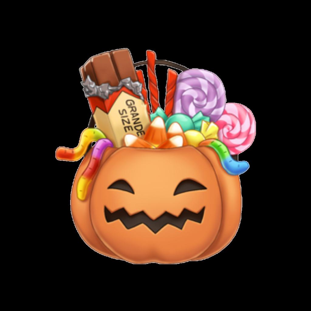 Pumpkin of candy clipart jpg transparent stock arimoji halloween pumpkin candy grande halloweencandy... jpg transparent stock