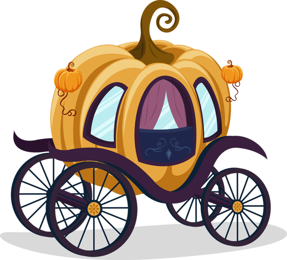 Pumpkin carriage clipart black and white png black and white stock Pumpkin Carriage Pumpkin png black and white stock