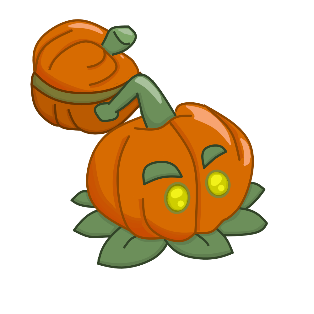 Zombie pumpkin clipart svg freeuse Pumpkin-pult (SquashCake) | Plants vs. Zombies Character Creator ... svg freeuse