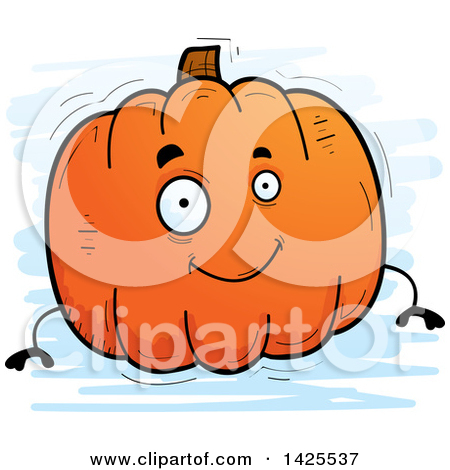 Pumpkin character clipart clip royalty free download Royalty-Free (RF) Clipart Illustration of a Happy Pumpkin ... clip royalty free download