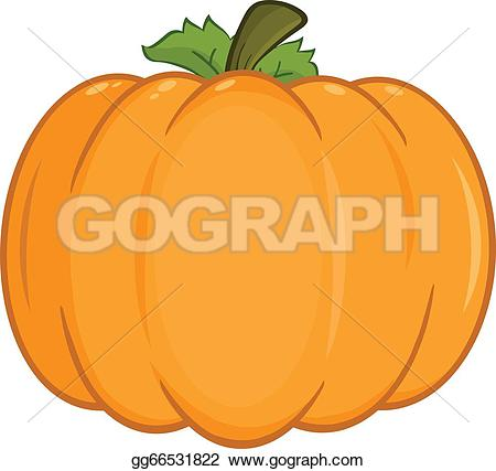 Pumpkin character clipart png free stock Pumpkin Character Clip Art - Royalty Free - GoGraph png free stock