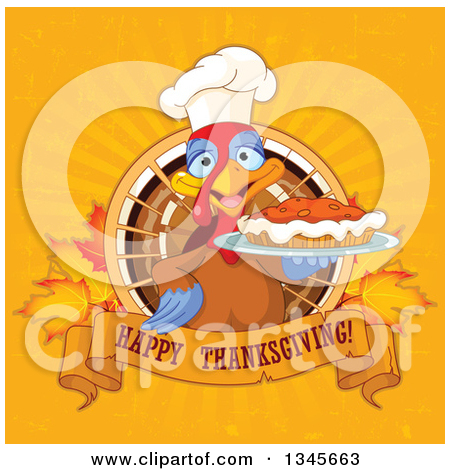 Pumpkin chef character clipart png library download Royalty-Free (RF) Pie Clipart, Illustrations, Vector Graphics #1 png library download