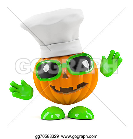 Pumpkin chef character clipart jpg transparent Pumpkin chef character clipart - ClipartFest jpg transparent