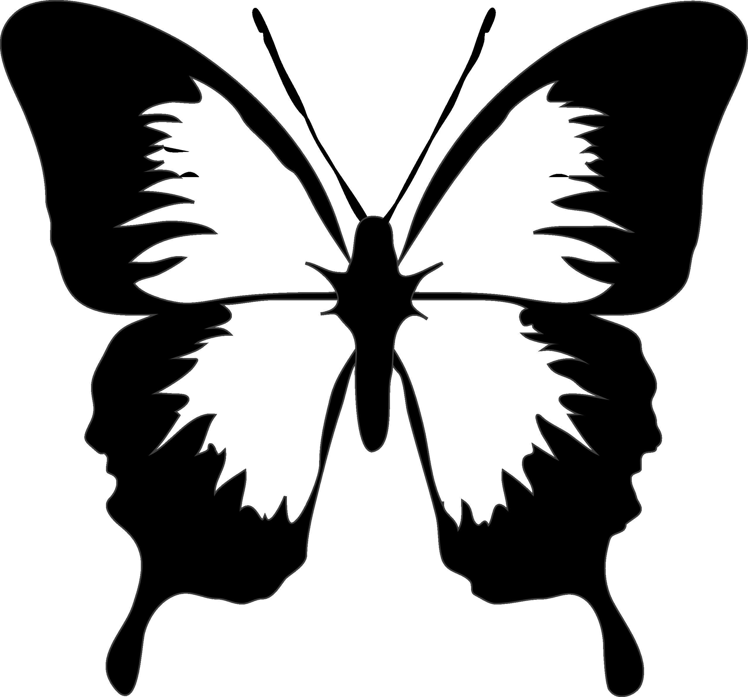 Pumpkin clipart black and white jpg picture black and white Butterflies Clipart Black And White   Free download best Butterflies ... picture black and white