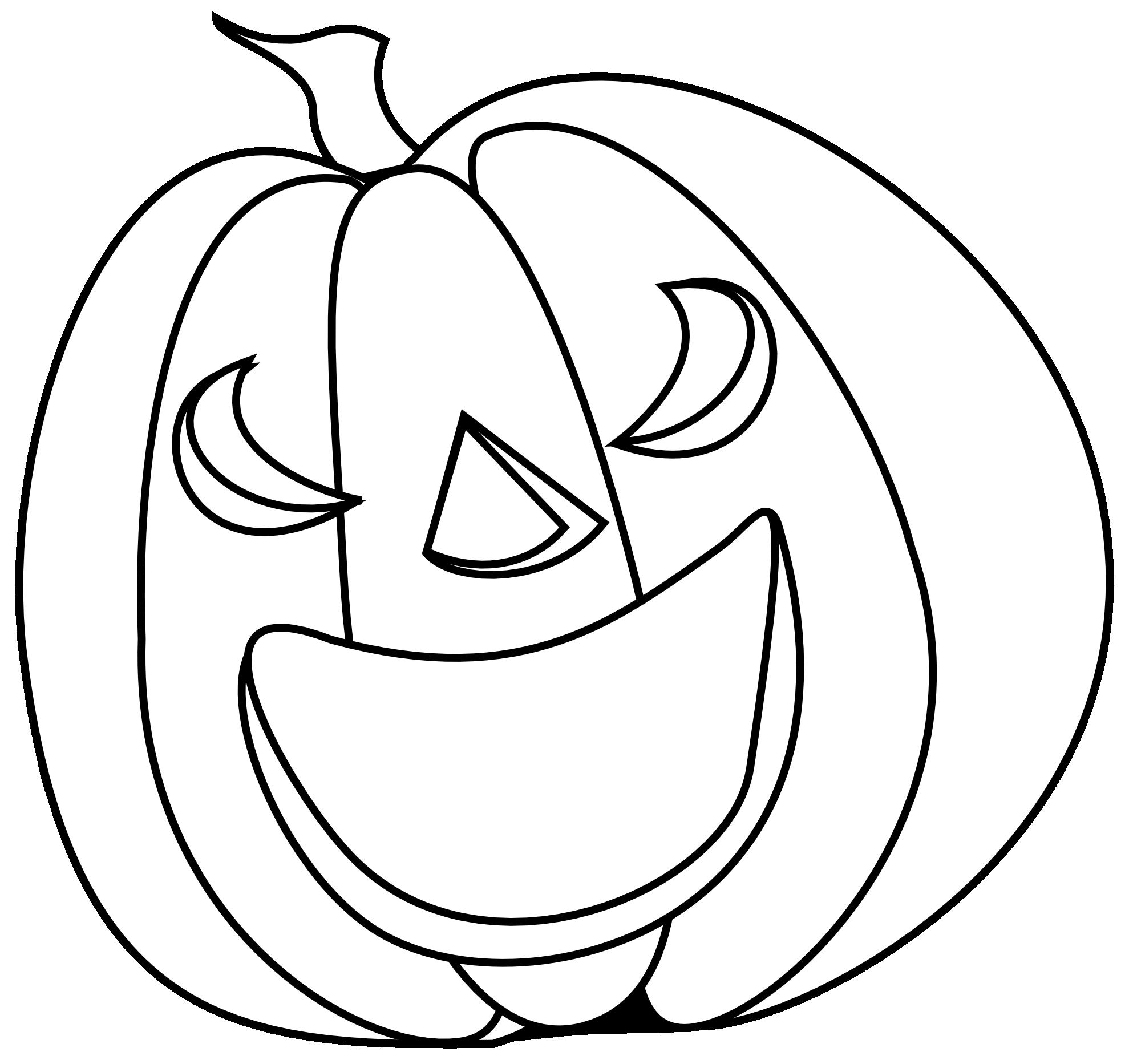 Pumpkin clipart black and white vines image transparent Black And White Halloween Pumpkin Clipart - Clip Art Library image transparent