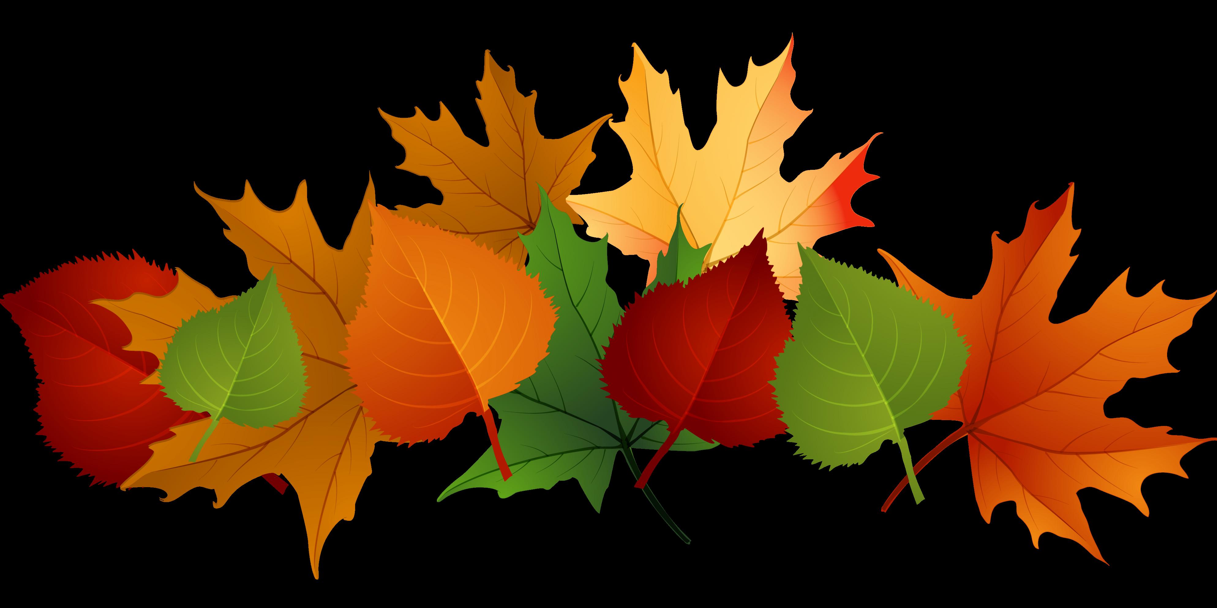 Pumpkin with leaves footer border clipart banner transparent stock Fall Wreath Fundraiser – Eden II Programs banner transparent stock
