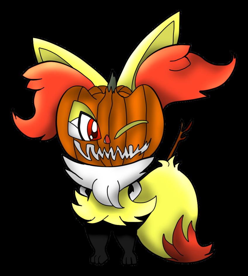 Pumpkin clipart in every color picture Halloween Braixen (PUMPKIN HELMEEEEEEEEET Colored) by MonsterDrawing ... picture