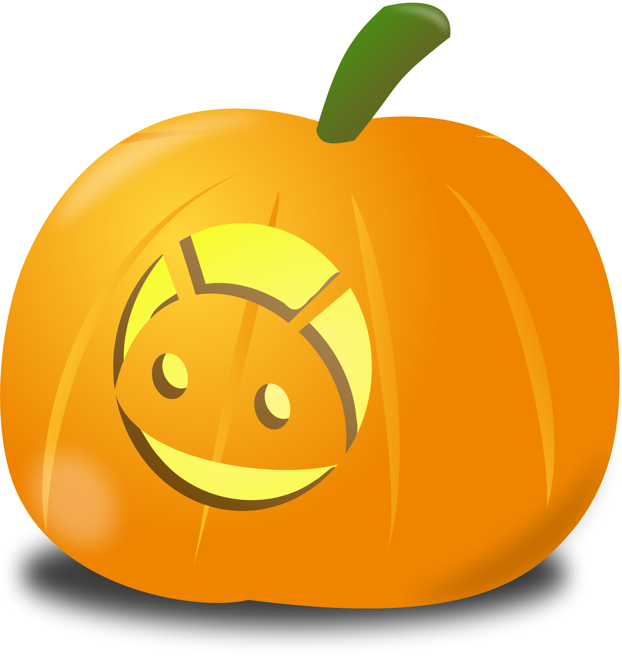 Pumpkin clipart .png clip black and white Android pumpkin Icons PNG - Free PNG and Icons Downloads clip black and white