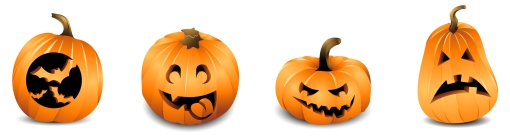 Pumpkin clipart row clip art royalty free library Halloween Teaching Resources and Lesson Plans: English, Bulletin ... clip art royalty free library
