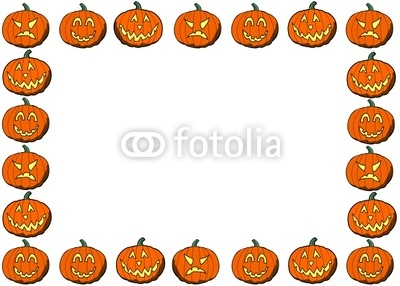 Pumpkin clipart row picture library download Free clipart pumpkin banner - ClipartFest picture library download