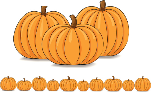 Pumpkin clipart row clip art free download Pumpkin row clipart - ClipartFest clip art free download