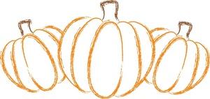 Pumpkin clipart row svg freeuse Pumpkin Row Clipart - Clipart Kid svg freeuse