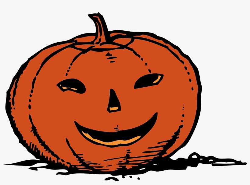 Pumpkin clipart vector svg freeuse download Pumpkins Vector Halloween - Smiling Pumpkin Clipart - Free ... svg freeuse download