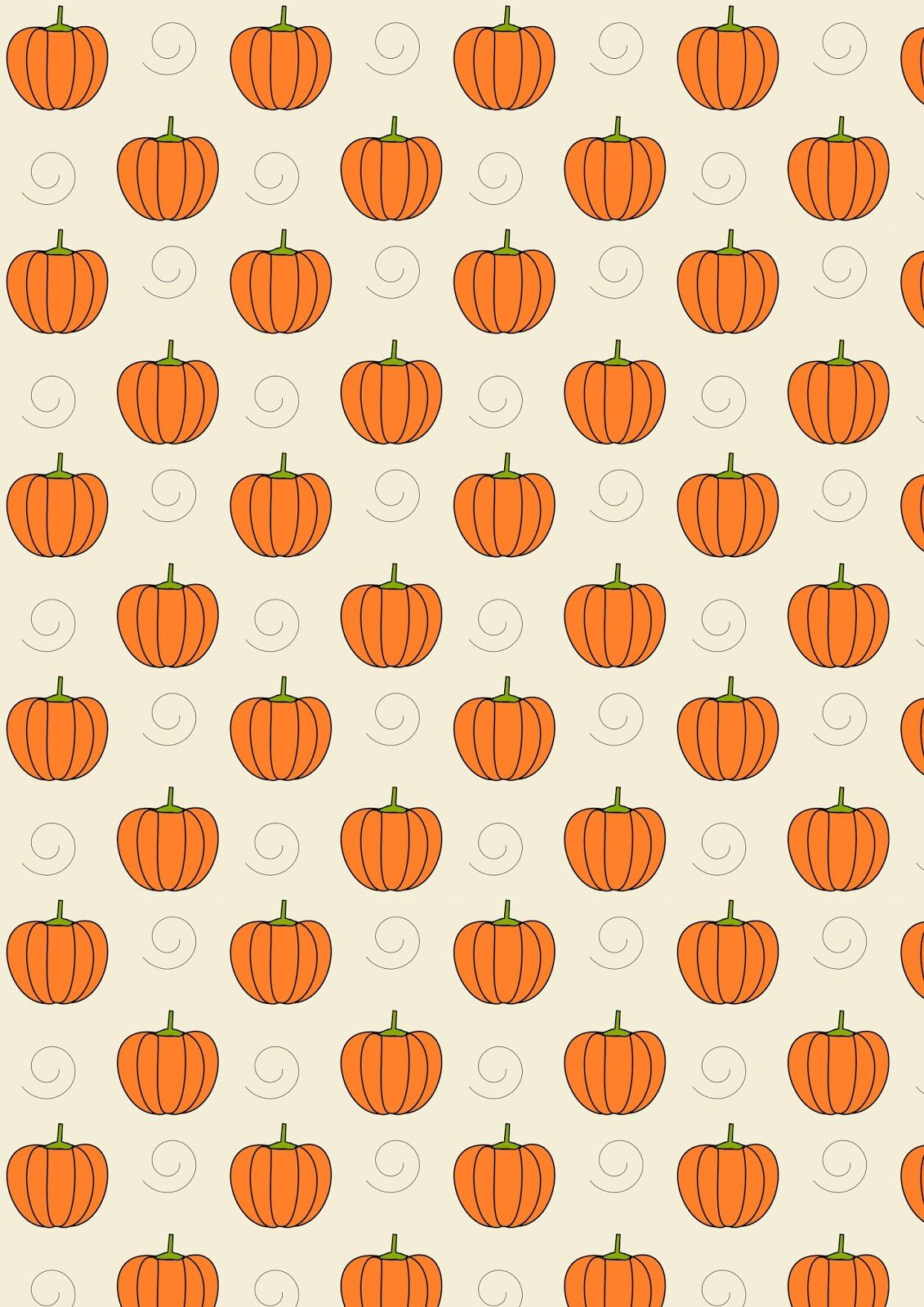 Pumpkin clipart wallpaper for fall png transparent Free digital pumpkin scrapbooking paper - ausdruckbares ... png transparent