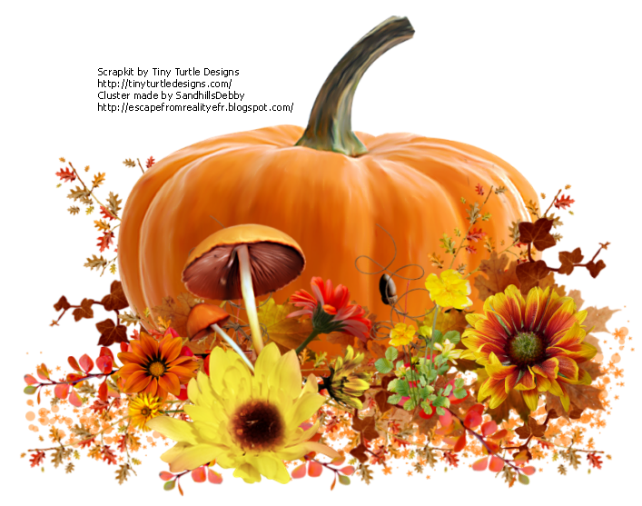 Pumpkin cluster clipart svg freeuse download Escape From Reality Blog: FTU