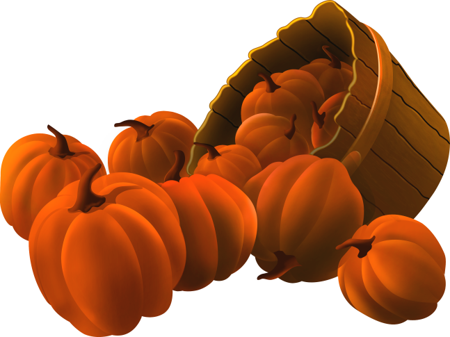 Pumpkin cluster clipart banner royalty free ForgetMeNot: Halloween pumpkins banner royalty free