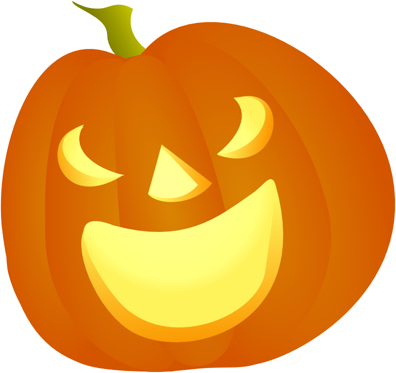 Smoking pumpkin clipart vector freeuse download Halloween Pumpkin 2d Png Simple vector freeuse download