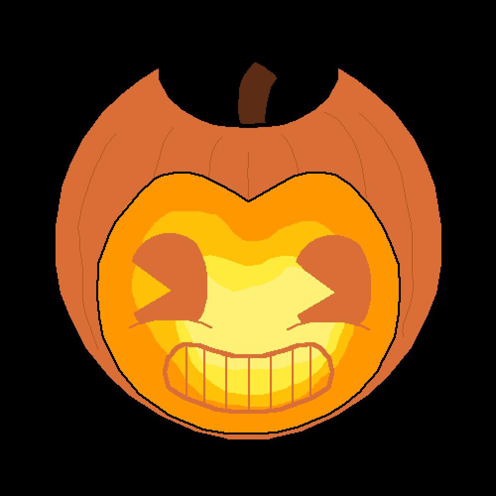 Pumpkin expressions clipart freeuse download Pixilart - Pumpkin Bendy by thefandomtrash freeuse download