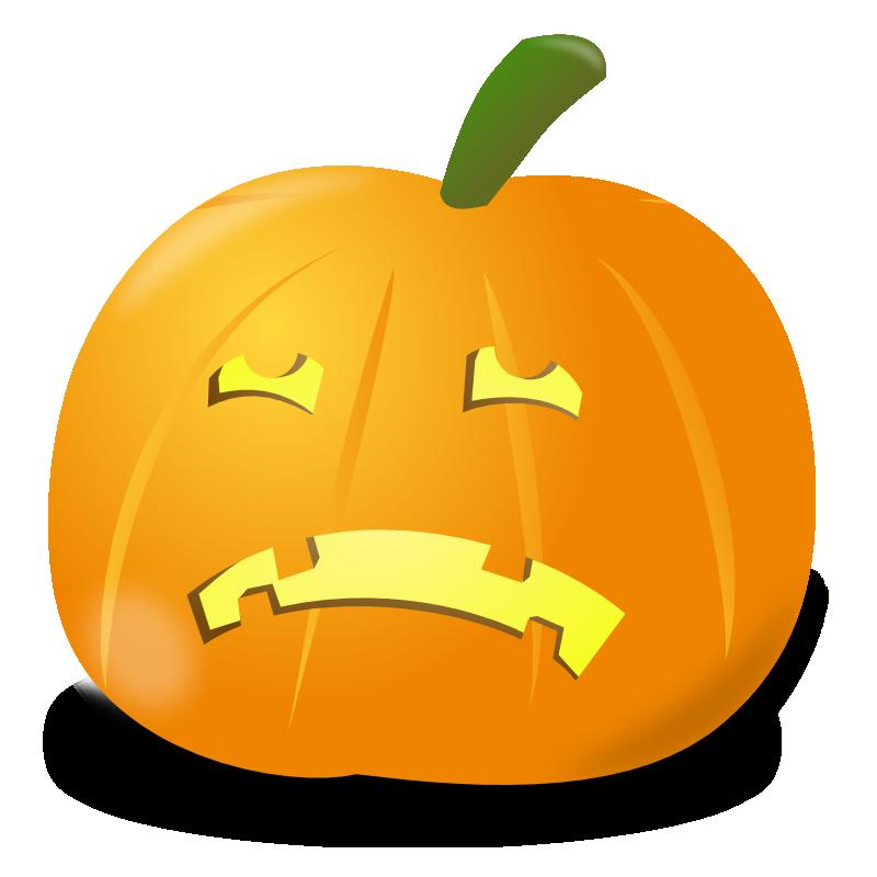 Pumpkin face clipart vector royalty free stock 28+ Collection of Sad Pumpkin Faces Clipart   High quality, free ... vector royalty free stock