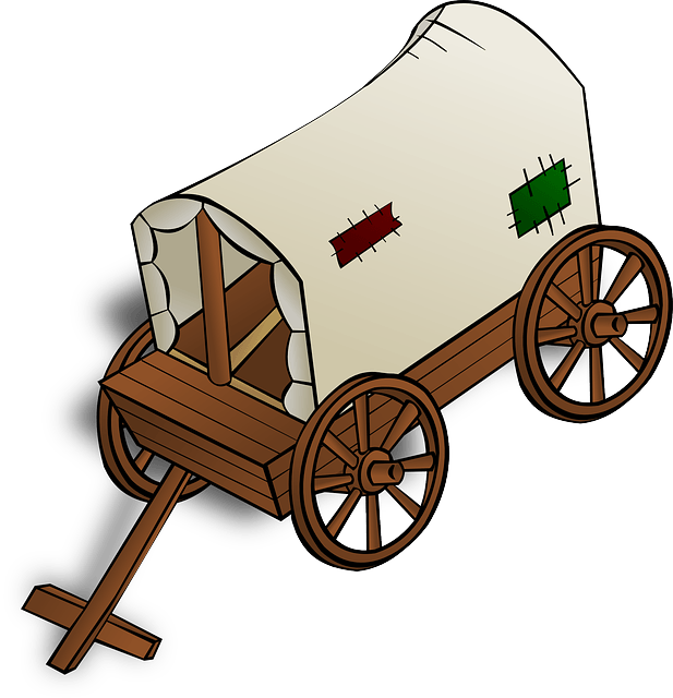Wooden car clipart vector royalty free download Covered Wagon Clipart at GetDrawings.com | Free for personal use ... vector royalty free download