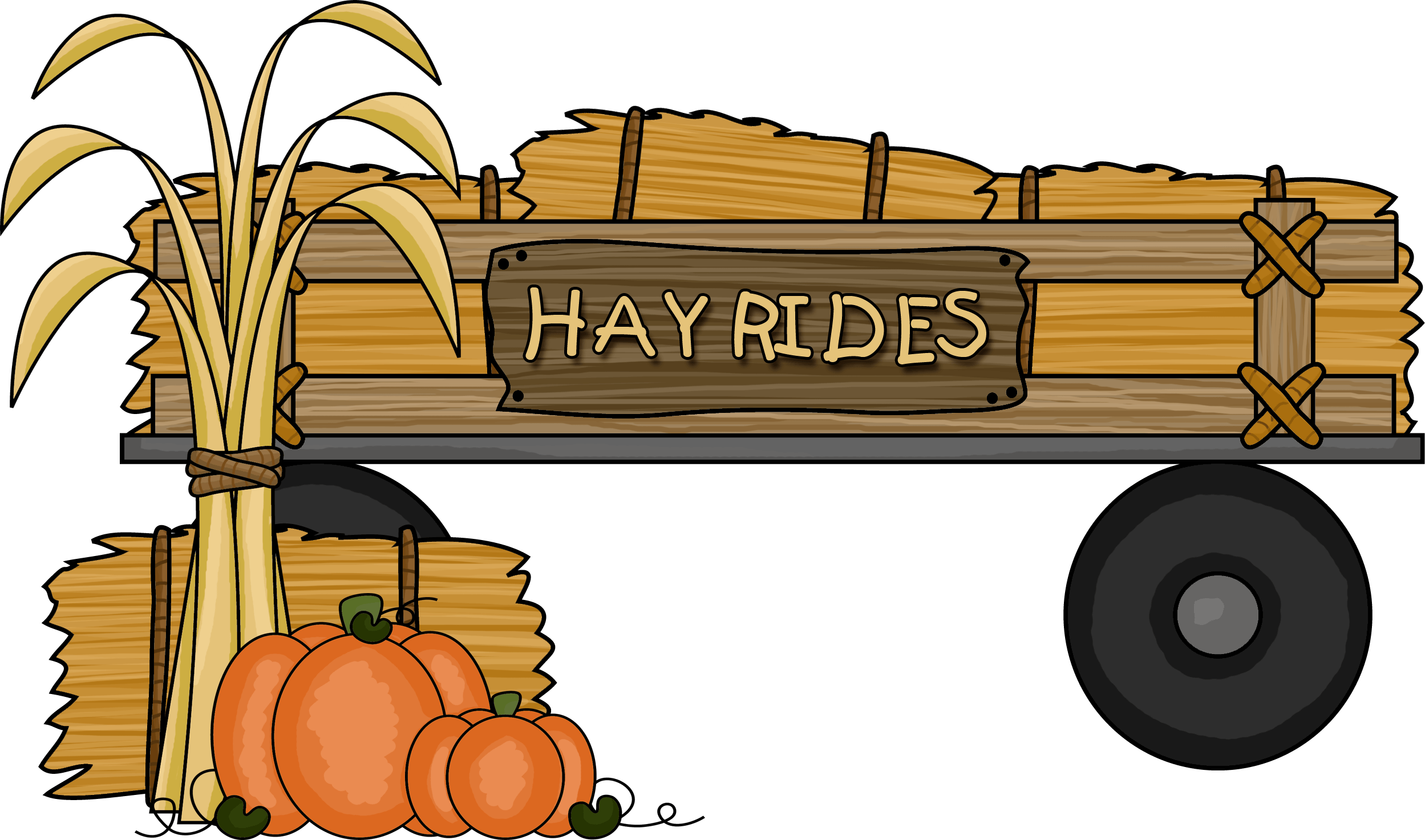 Pumpkin wagon clipart clip free download 28+ Collection of Hay Wagon Clipart | High quality, free cliparts ... clip free download
