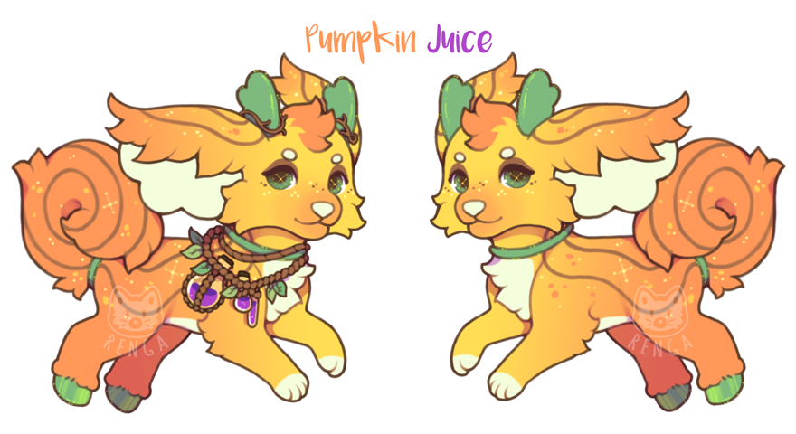 Pumpkin juice clipart png free Day 1 - Pumpkin Juice - CLOSED} by Renga-ADOPTS on DeviantArt png free