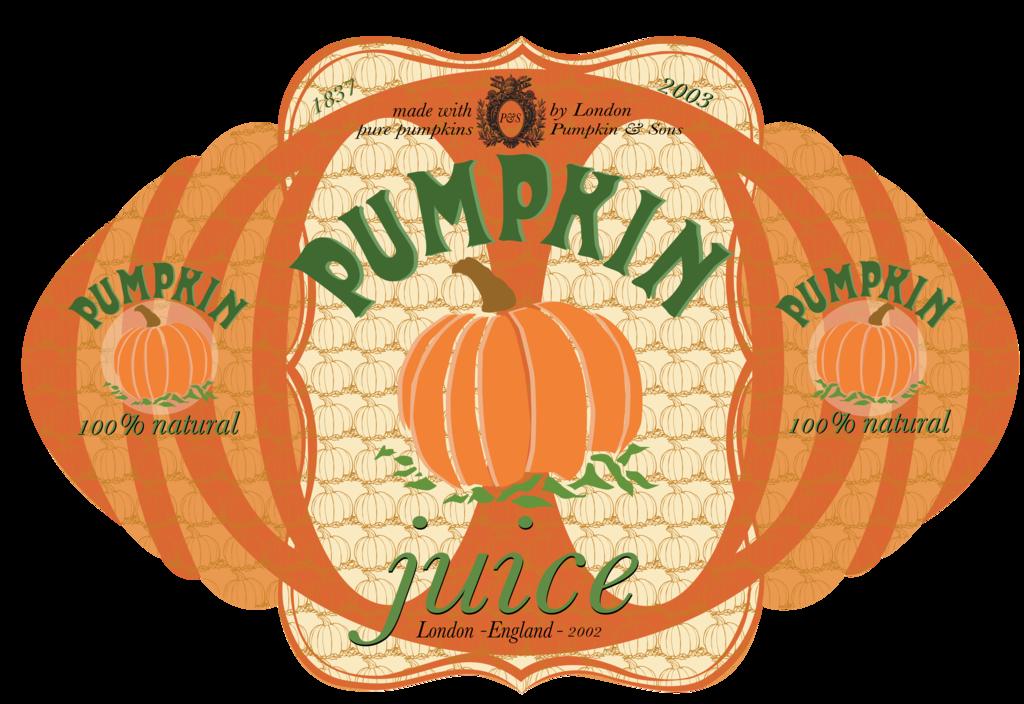 Pumpkin juice clipart vector free Pumpkin Juice Label by credechica4 on DeviantArt vector free