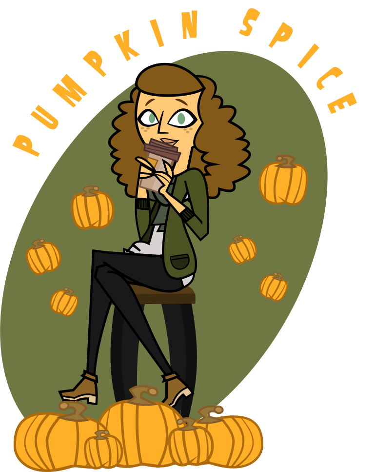 Pumpkin spice everything clipart transparent library White Girl - Pumpkin Spice Latte Edition by Emperor-Lucas on DeviantArt transparent library