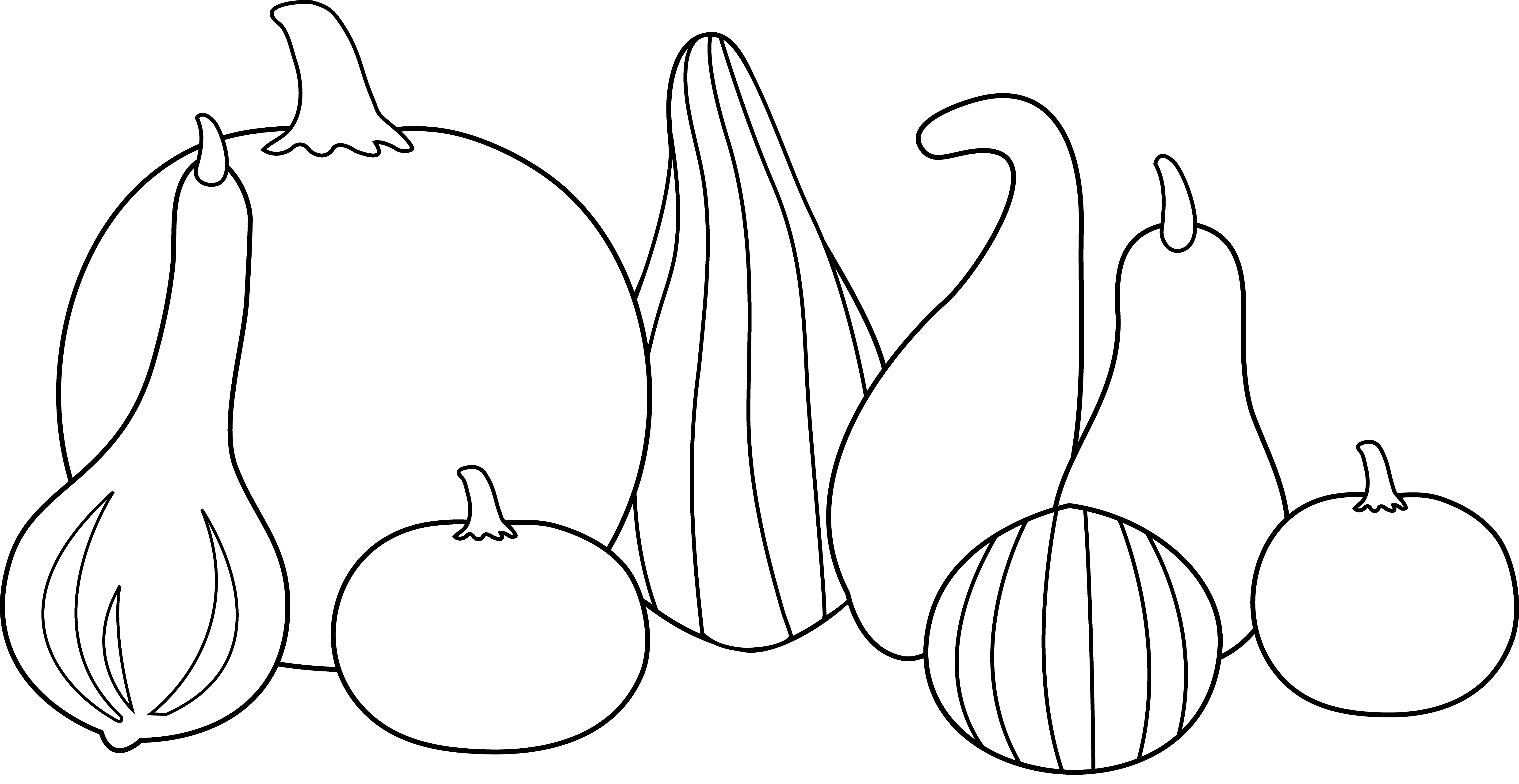 Thanksgiving pumpkins and gords clipart jpg black and white stock Gourd Clipart little pumpkin - Free Clipart on Dumielauxepices.net jpg black and white stock
