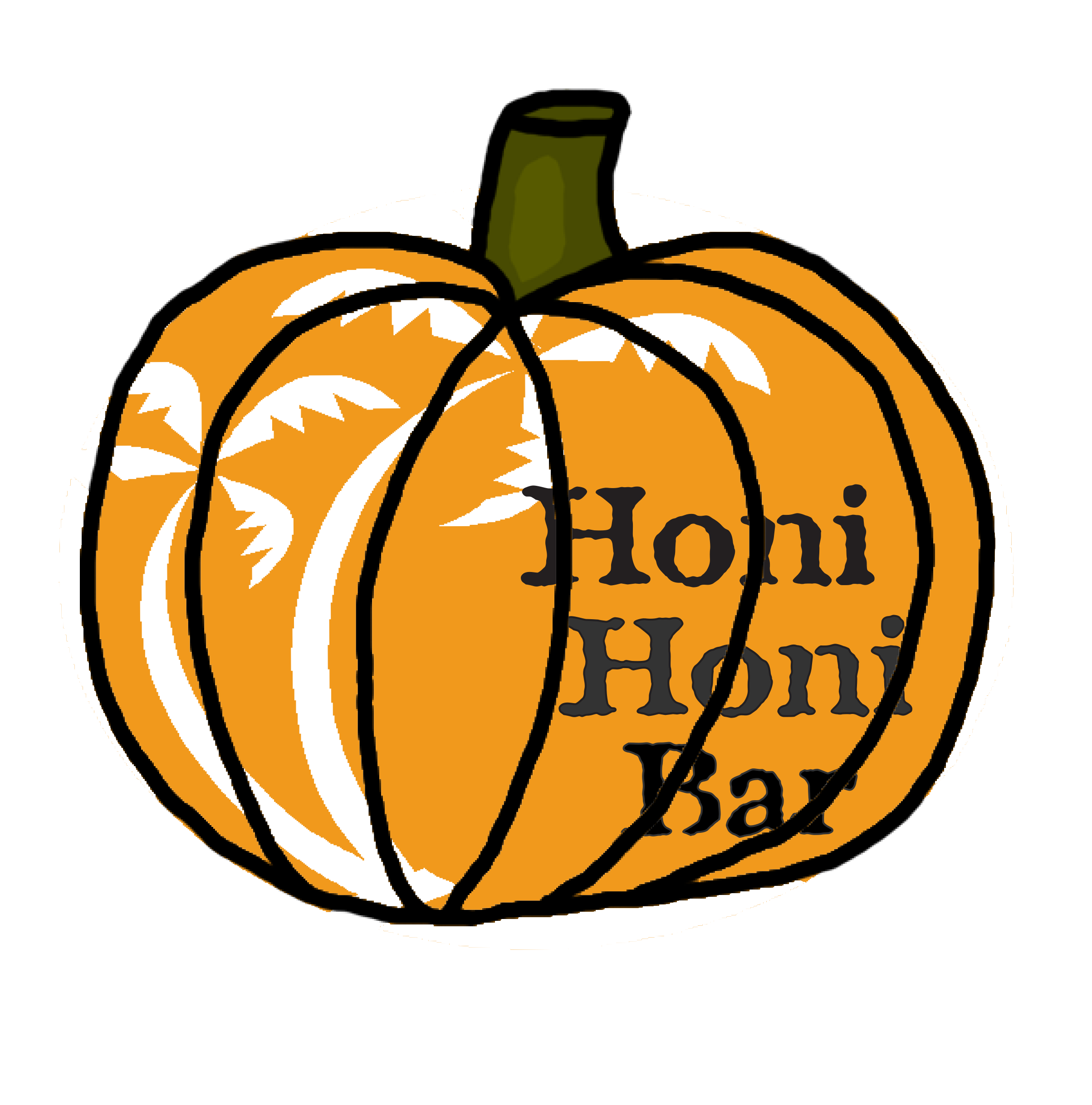 Pumpkin & leaf bars clipart clipart stock Honi-Honi Bar - Happenings clipart stock