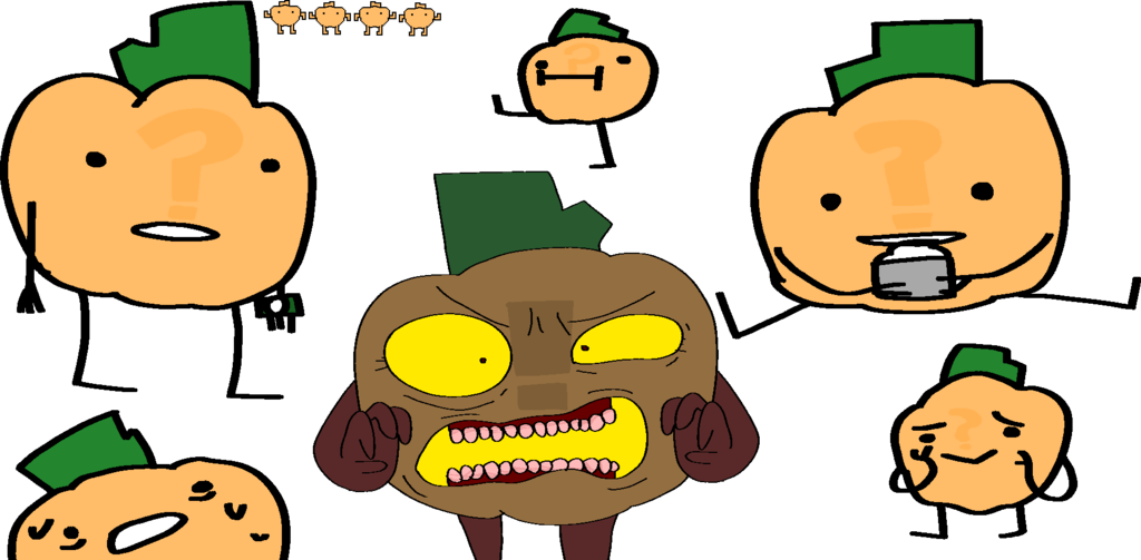 Pumpkin mixed messages clipart picture royalty free Onaf Oc What The Pumpkin by sundaymorningtoons on DeviantArt picture royalty free