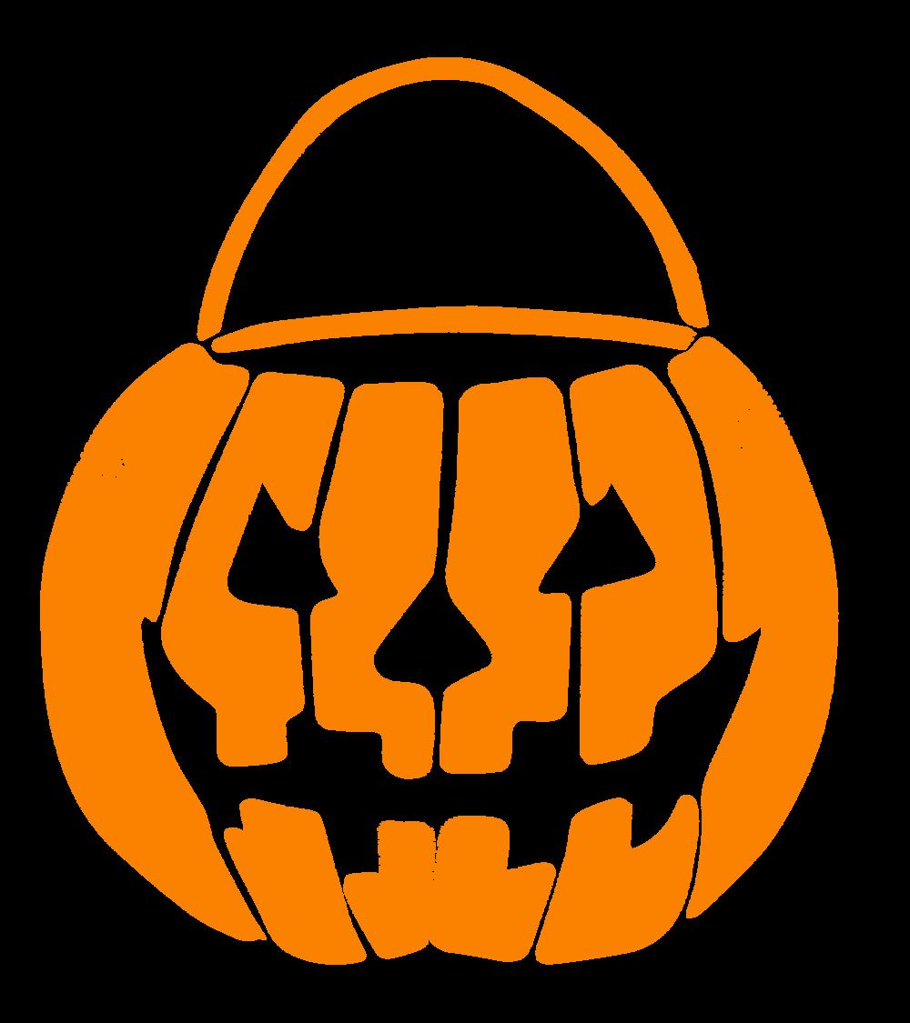 Pumpkin pail clipart image Candy Corn image