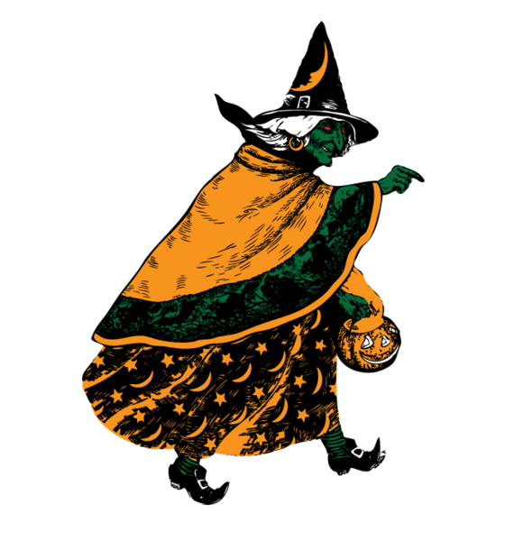 Pumpkin pail clipart clip free Halloween Witch Flying Broomstick Scary Cackle Pumpkin Pail Mens V ... clip free
