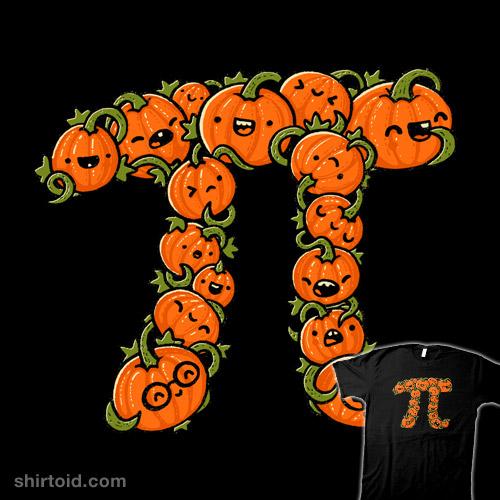 Pumpkin pi math clipart graphic free Pumpkin Pi | Shirtoid graphic free