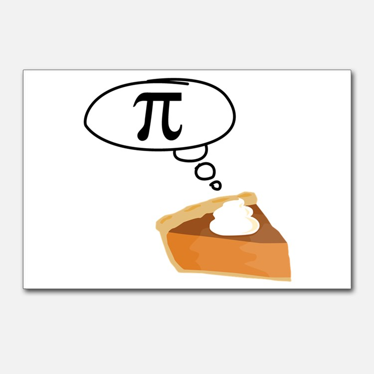 Pumpkin pi math clipart banner library stock Math Jokes Postcards | Math Jokes Post Card Design Template banner library stock