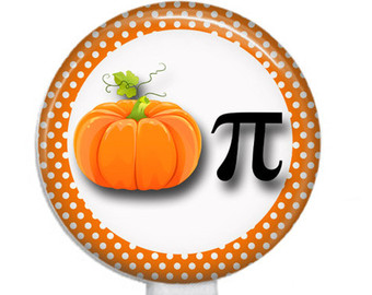 Pumpkin pi math clipart image library download Pumpkin pi | Etsy image library download