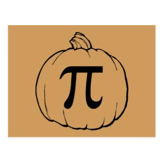 Pumpkin pi math clipart clip art transparent stock Pumpkin Pi Postcards   Zazzle clip art transparent stock