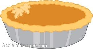 Pumpkin pi math clipart royalty free Whole Pumpkin Pie royalty free