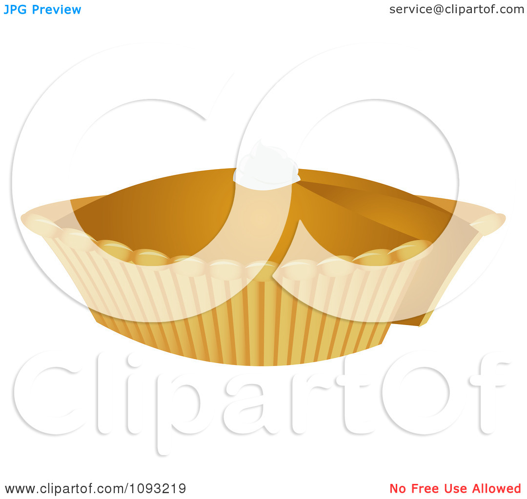 Pumpkin pie clipart jpeg picture free Clipart Pumpkin Pie 2 - Royalty Free Vector Illustration by ... picture free