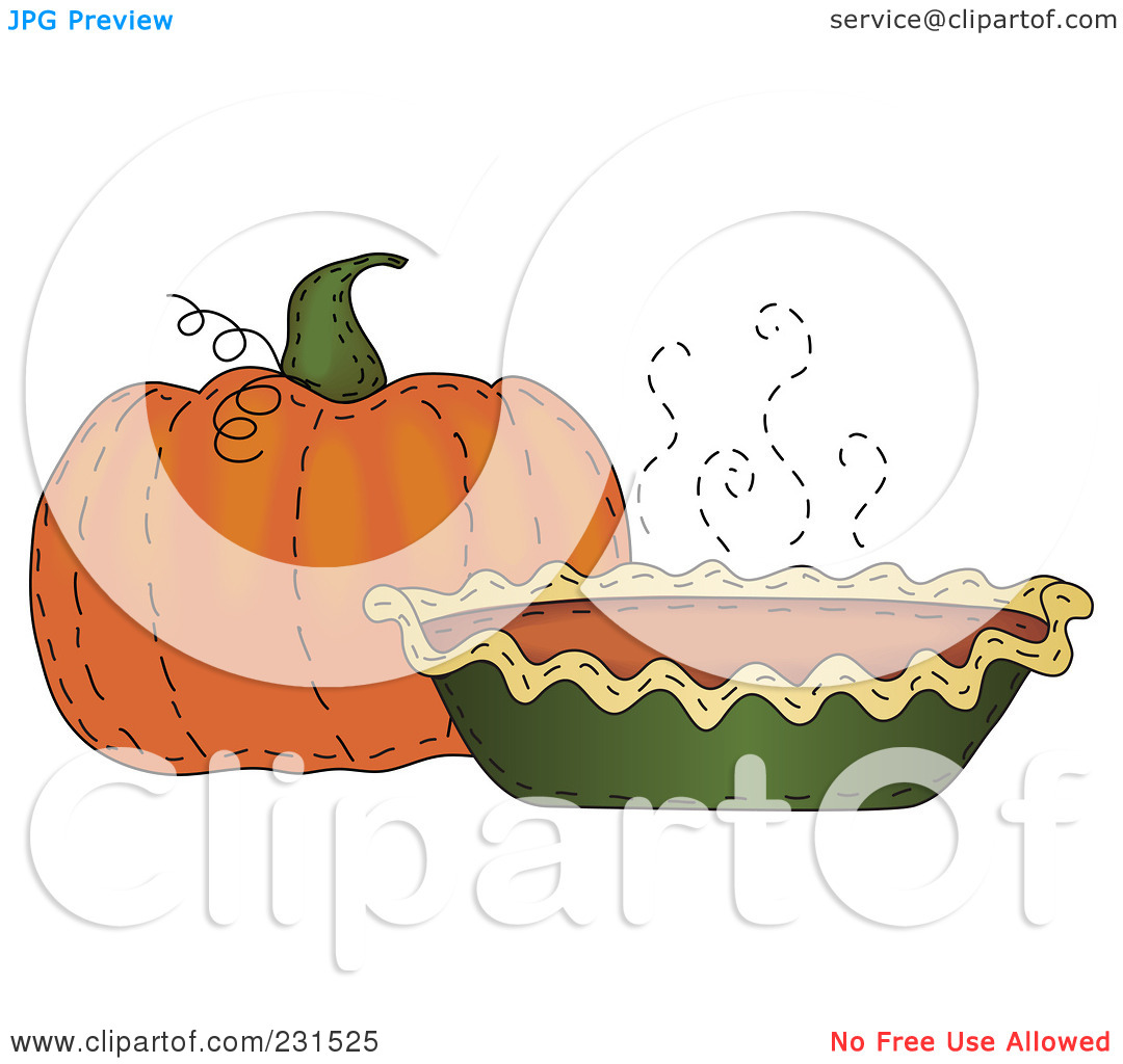 Pumpkin pie clipart jpeg jpg transparent stock Royalty-Free (RF) Clipart Illustration of a Sewn Folk Art Styled ... jpg transparent stock
