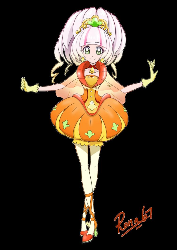 Pumpkin princess clipart library Cure Pumpkin by Rona67 on DeviantArt library