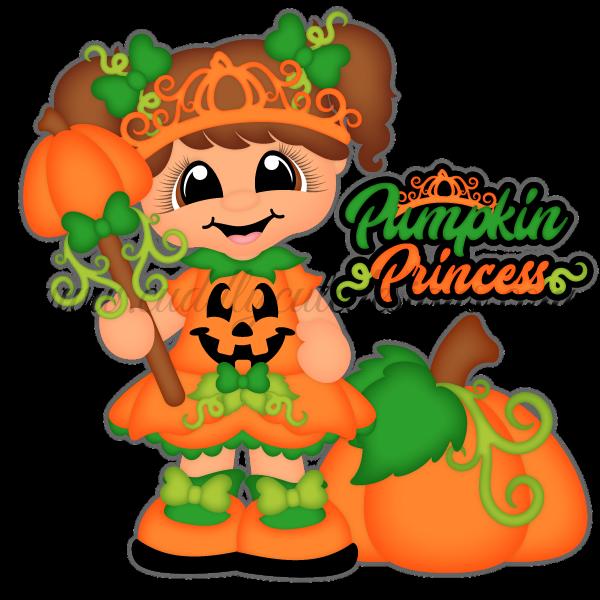 Pumpkin princess clipart jpg freeuse library Pumpkin Princess | Halloween clip | Pinterest | Princess, Scrapbook ... jpg freeuse library