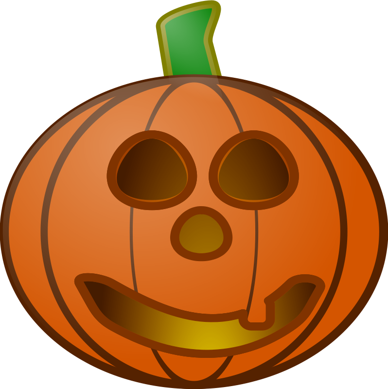Pumpkin reading clipart clipart freeuse Happy And Sad Pumpkins - Clipart library - Clipart library ... clipart freeuse