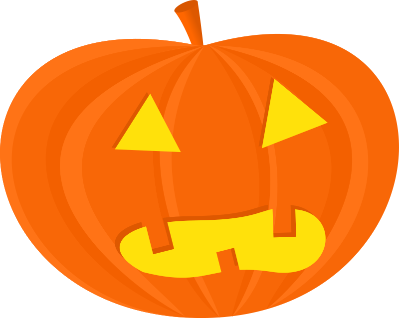 Pumpkin with cut for face clipart svg transparent library Clipart - halloween pumpkins svg transparent library