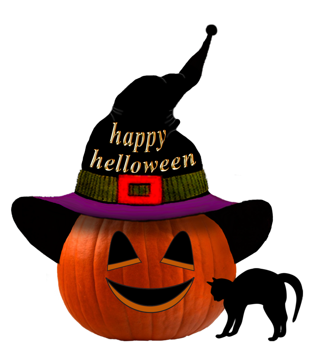 Pumpkin with hat clipart image download Pumpkin helloween by roula33 on DeviantArt image download