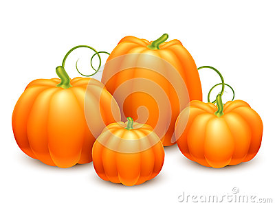 Pumpkins clipart of different sizes image royalty free stock Different Size Color Pumpkins Stock Illustrations – 13 Different ... image royalty free stock