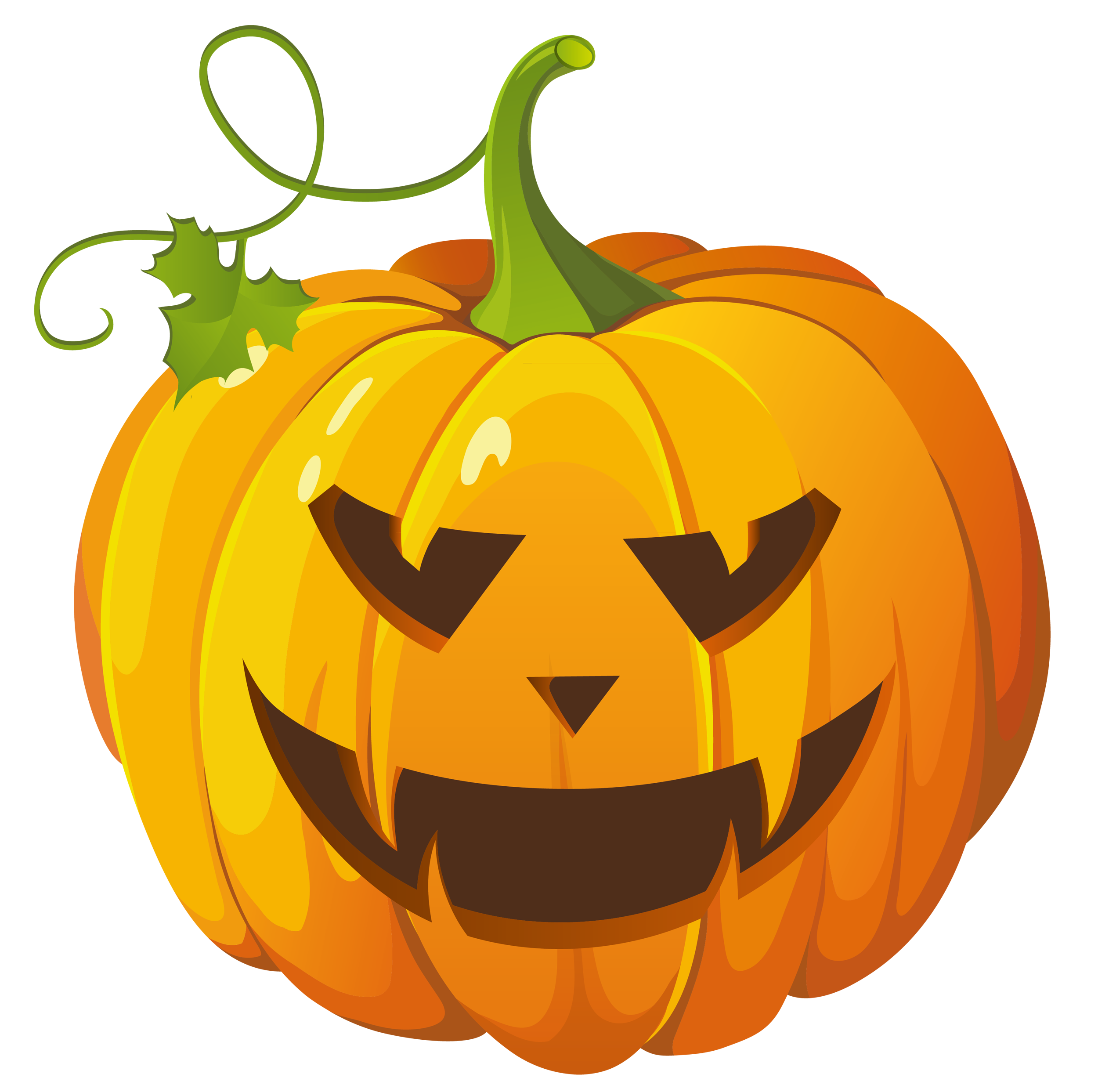 Cartoon pumpkin clipart