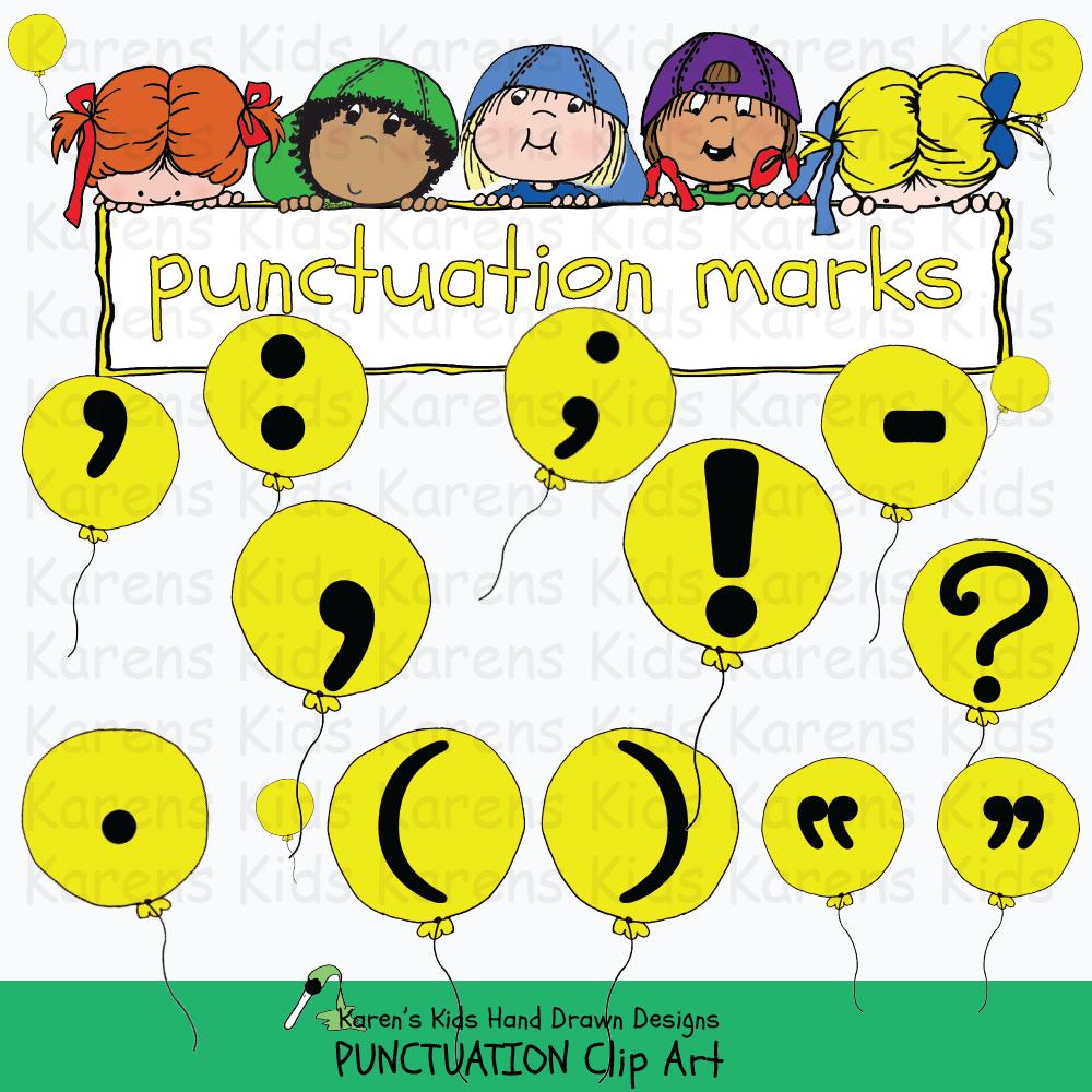 Puncuation clipart image freeuse Clip Art Punctuation image freeuse