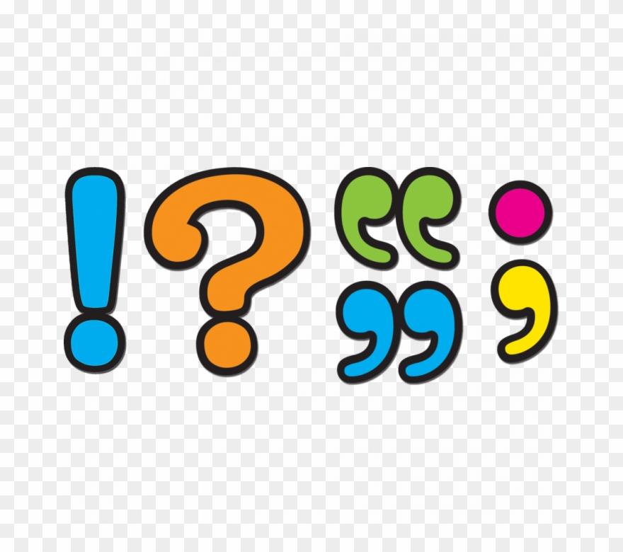 Puncuation clipart clip art Punctuation Marks Clip Art - Png Download (#798373) - PinClipart clip art